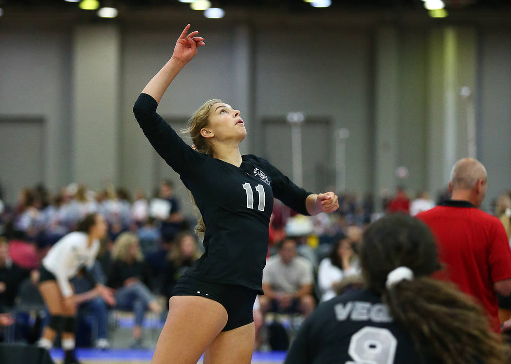 Kimberly Bailey Boulder City High School sophomore Kamry Bailey helped her club team, the Vegas Aces 15U Under Armour, win the gold medal during the USA Volleyball Junior National Championships in ...