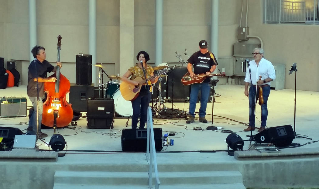 File The Unwieldies, from left, Robert Bell, Danielle Bell, Richard Well and Jack Ball, will perform at The Dillinger Food and Drinkery on Saturday, Aug. 11, 2018.
