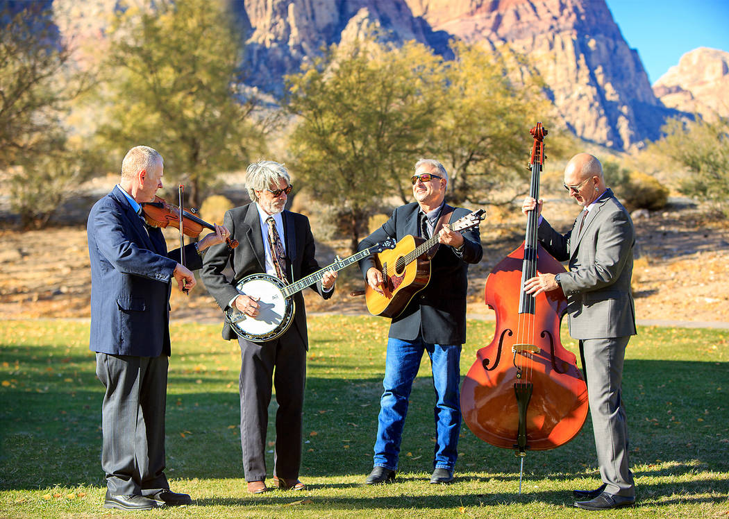 File Bluegrass veterans Out of the Desert will perform a free, all-ages show at 8 p.m. Saturday, Aug. 11, 2018, at the Boulder Dam Brewing Co., 453 Nevada Way.