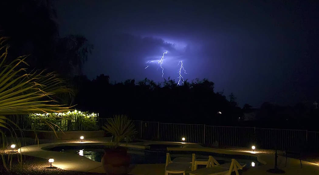 Erik Gloege Lightning storms during monsoon season can cause numerous problems, including power outages and surges.