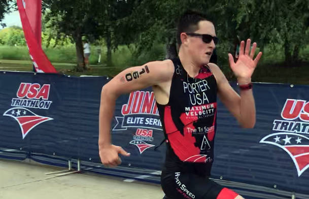 Lynette Porter Ethan Porter of Boulder City finished 39th out of 70 competitors at the 2018 USA Triathlon Junior National Championship in West Chester, Ohio, on Aug. 4.