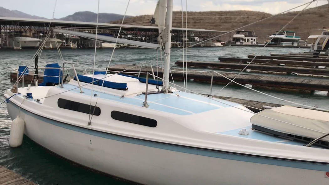 National Park Service This vessel, belonging to Brian Yule, 69, was discovered unoccupied around 1 p.m. Saturday, Aug. 11. Officials at Lake Mead National Recreation Area are asking for help to fi ...