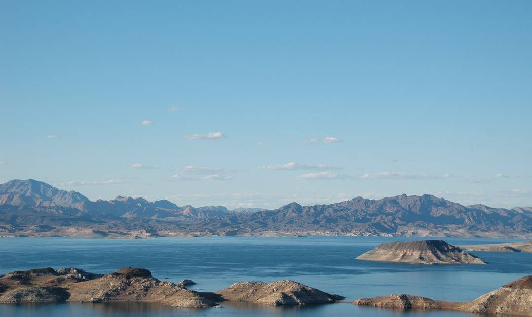 Jayme Sileo/Boulder City Review The Lake Mead Recreational Area has opportunities for boating, paddle-boarding, swimming, as well as hikes and trails. The recreation area is open 24 hours every da ...