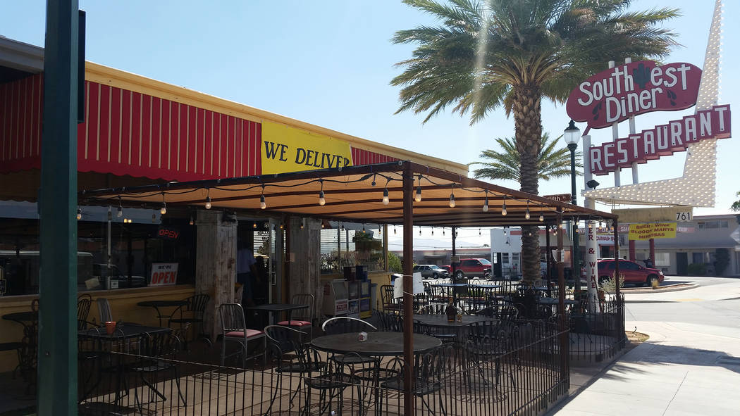 Celia Shortt Goodyear/Boulder City Review Southwest Diner, 761 Nevada Way, now offers delivery for its food.