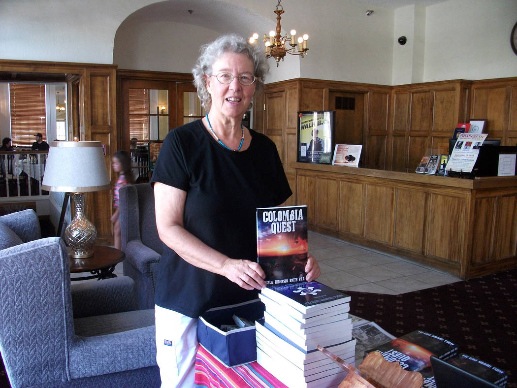 """Angela Thompson Smith Boulder City author Angela Thompson Smith recently released her book, """"Colombia Quest,"""" which highlights the two years she spent at an orphanage in Villavicencio, C ..."""