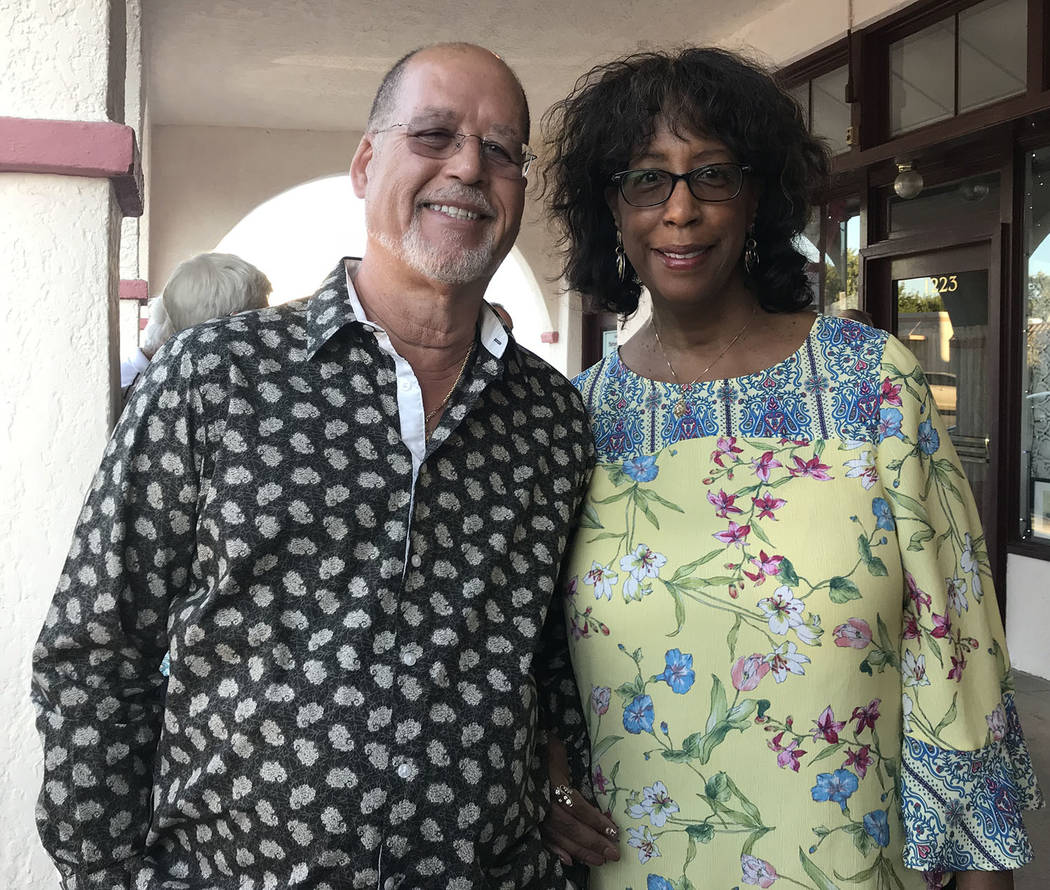 """Hali Bernstein Saylor/Boulder City Review Frank and Marsha Irvin of Henderson were among those attending the annual performances of Boulder City Chautauqua on Saturday. """"We come every year,"""" they ..."""