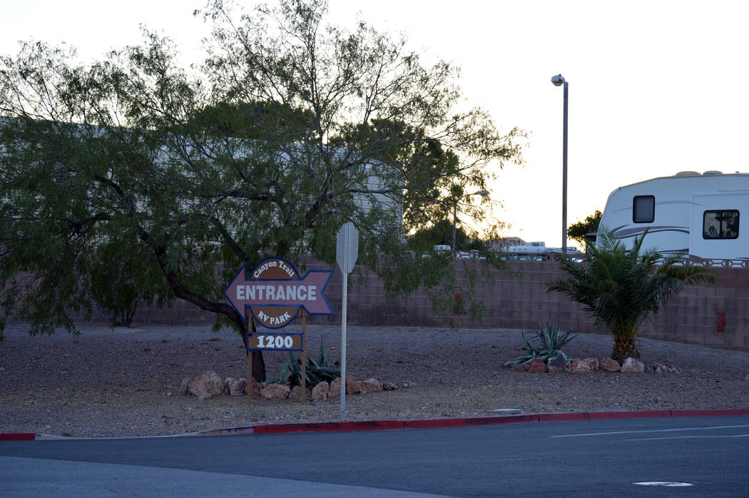 Celia Shortt Goodyear/Boulder City Review The Planning Commission is recommending that City Council amend city code to allow tent camping at Canyon Trail RV Park, 1200 Industrial Road, which is in ...