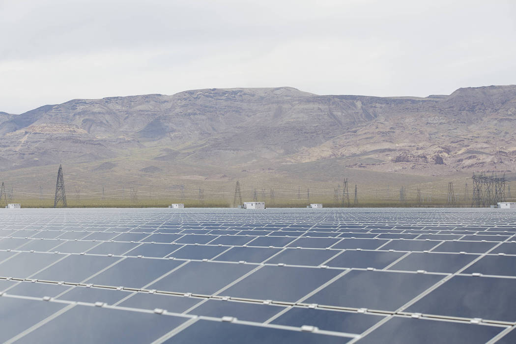 File Copper Mountain 1, owned by Sempra U.S. Gas & Power, is among the solar fields in the Eldorado Valley that is being sold to Consolidated Edison Inc.