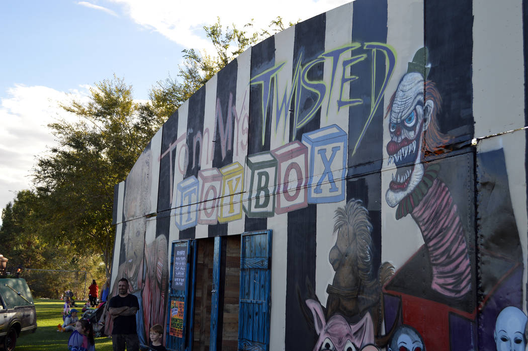 Celia Shortt Goodyear/Boulder City Review Tom Devlin's Monster Museum, 1310 Boulder City Parkway, will present a haunted house Friday, Saturday and Sunday. Hours are 7-10 p.m.