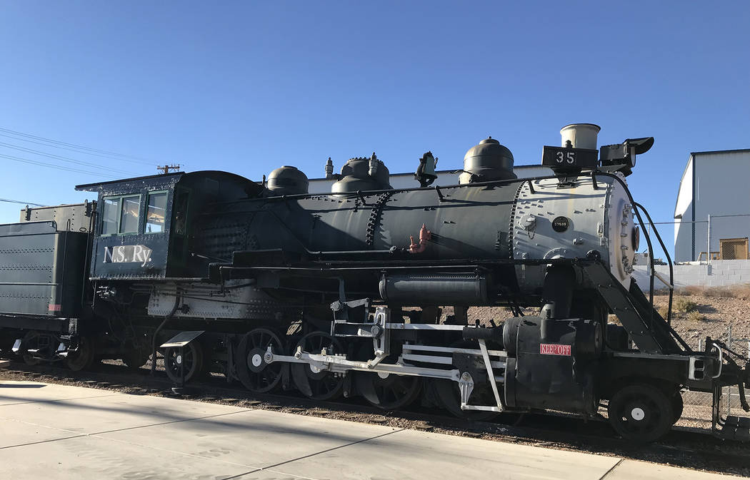 Hali Bernstein Saylor/Boulder City Review Nevada State Railroad Museum, 601 Yucca St., will offer a Halloween Express on Oct. 27 and 28, 2018, that will include a train ride and costume contest.