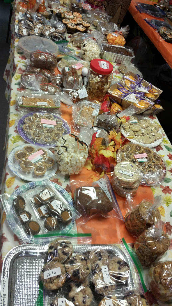Celia Shortt Goodyear/Boulder City Review Grace Community Church's 71st annual Country Store featured a variety of homemade baked goods for sale.