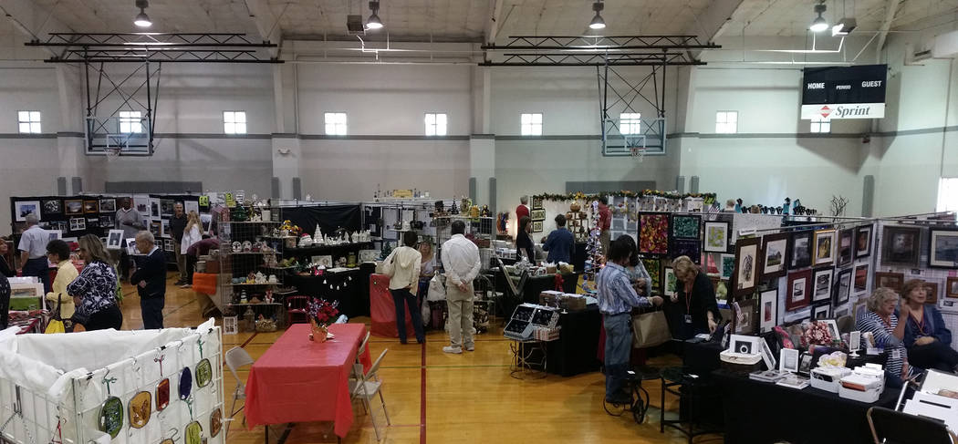 Celia Shortt Goodyear/Boulder City Review The Boulder City Art Guild will hold its annual Holiday Fine Art and Craft Show on Saturday and Sunday, Nov. 10 and 11, at the city's recreation center, 9 ...