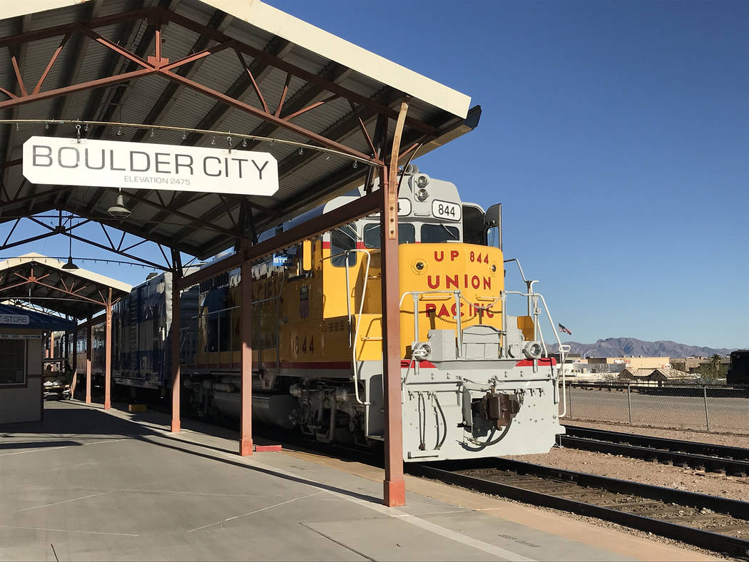 Friends of the Nevada Southern Railway will hold its monthly story time train rides Saturday, Nov. 17.