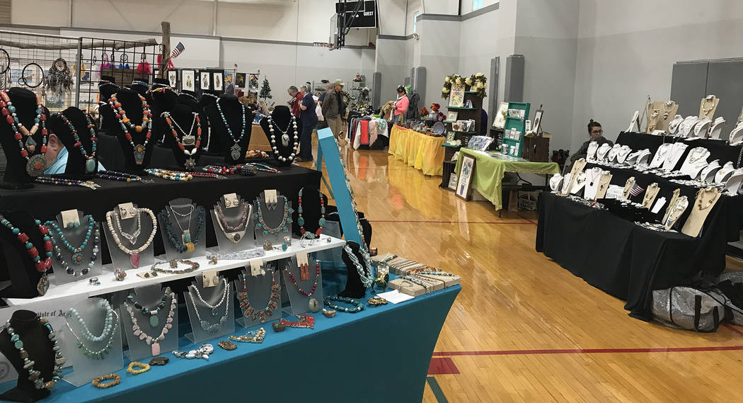 (Hali Bernstein Saylor/Boulder City Review) Boulder City Art Guild held its annual Holiday Fine Art and Craft Show on Saturday and Sunday, Nov. 10 and 11 at the Boulder City Recreation Center.