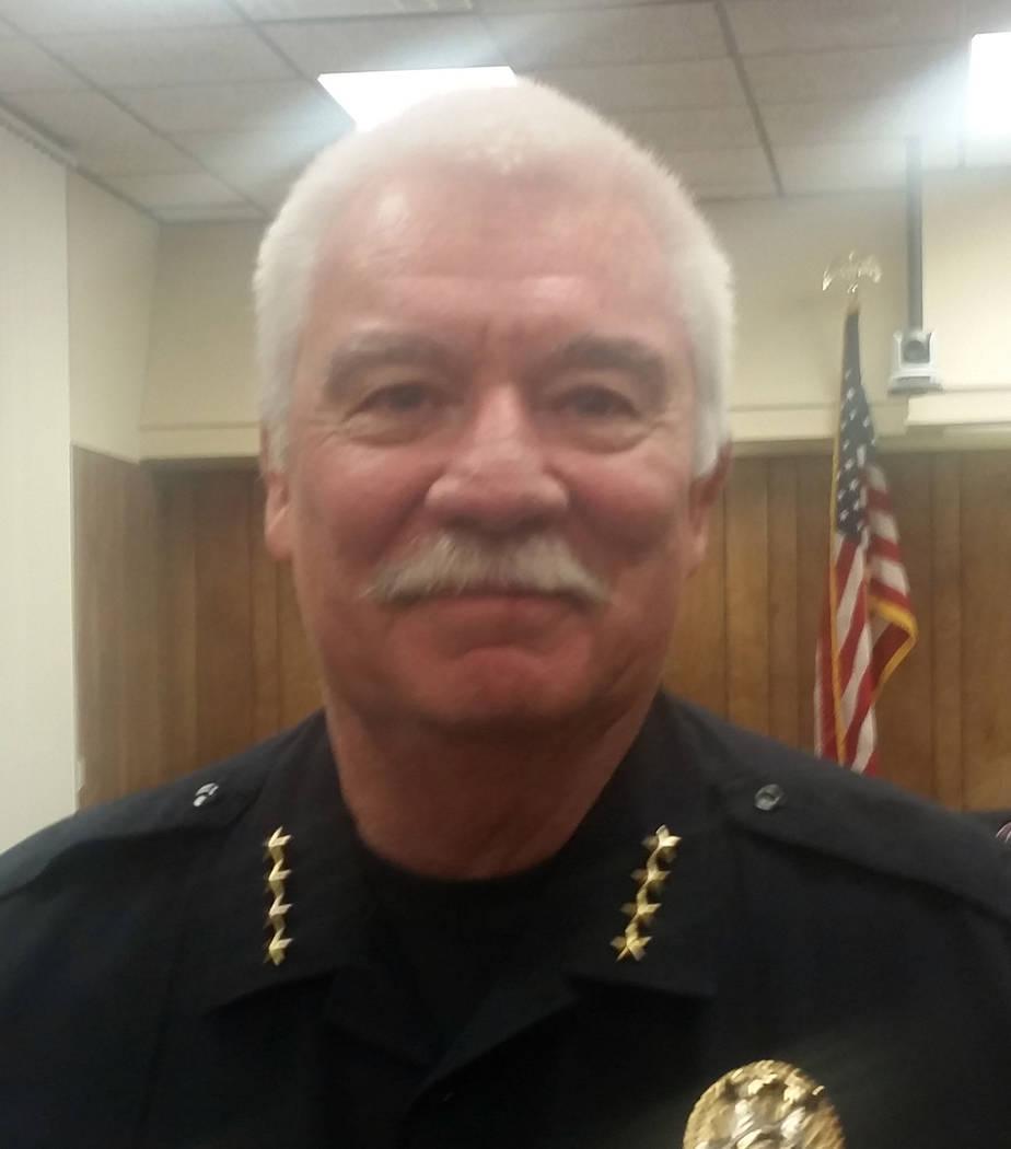 Boulder City Police Chief Tim Shea
