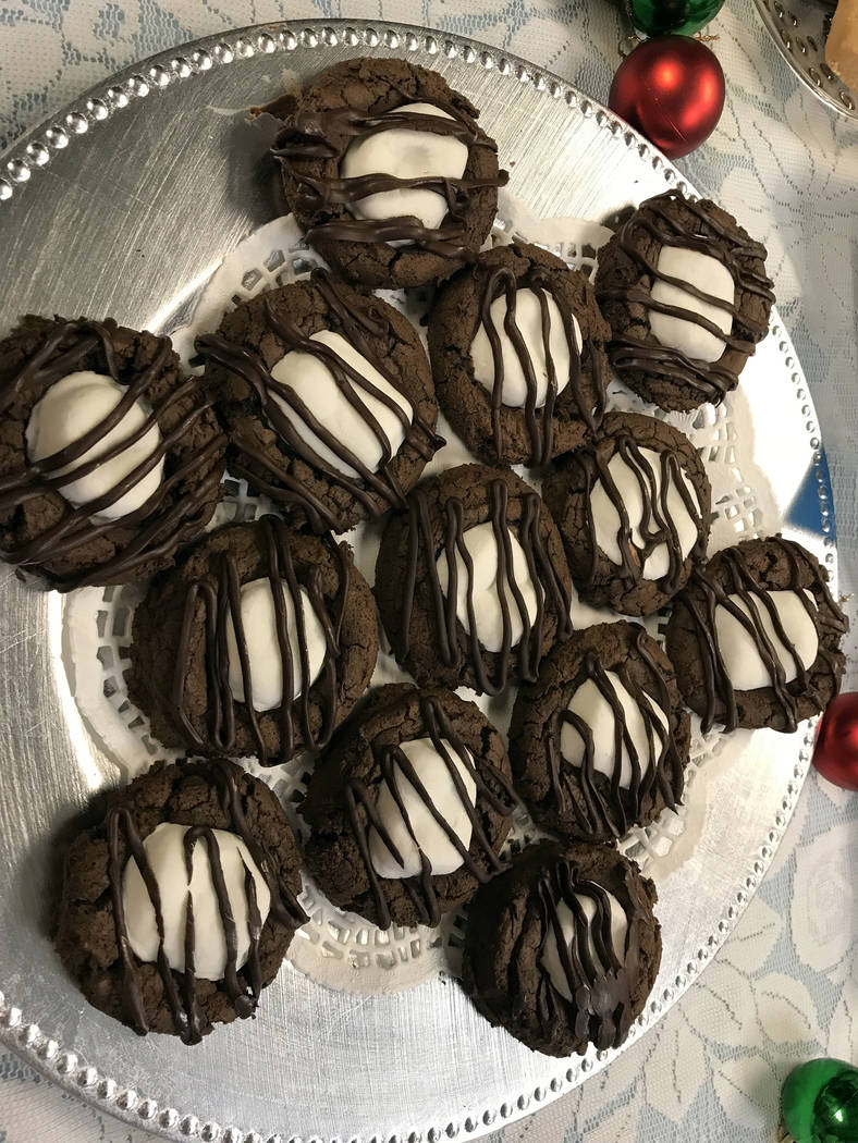 Hali Bernstein Saylor/Boulder City Review Kristy Lee Gildner's hot chocolate cookies earned third place in this year's Boulder City Review Christmas Cookie Contest.