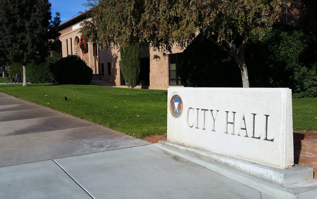 (Celia Shortt Goodyear/Boulder City Review) City Council is moving forward with its updated strategic plan and could possibly vote on it in December.