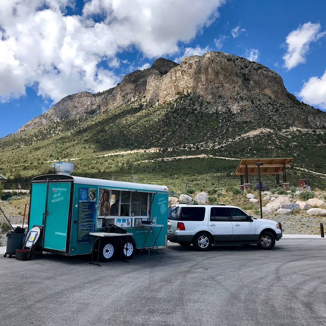 Greek Delights' food trailer will be open for business at Milo's 2 Wheels at the corner of Wyoming Street and Nevada Way on Tuesday, Dec. 4.