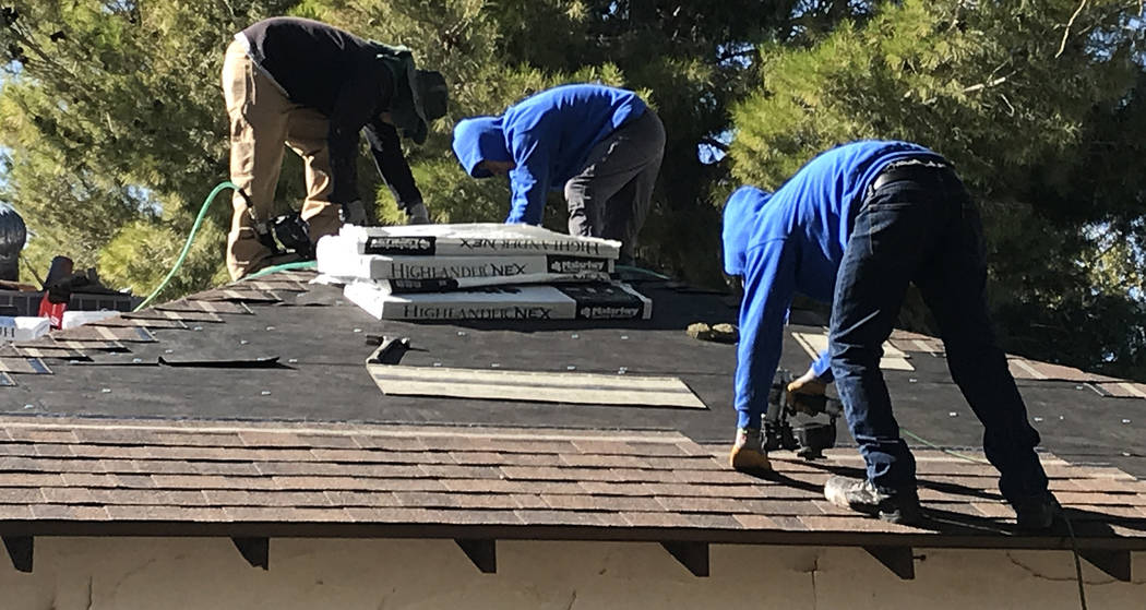 (Norma Vally/Boulder City Review) When selecting materials for a new roof, keep in mind your location, its lifespan and energy rating.