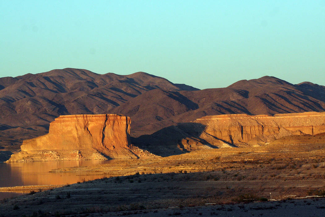 (Deborah Wall) The Temple Bar formation on Lake Mead National Recreation Area in Arizona is named for its resemblance to a building.