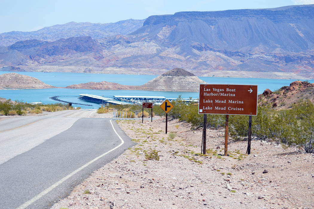 Trails, roads and launch ramps at Lake Mead National Recreation Area remain open during the federal government shutdown, but services are limited.