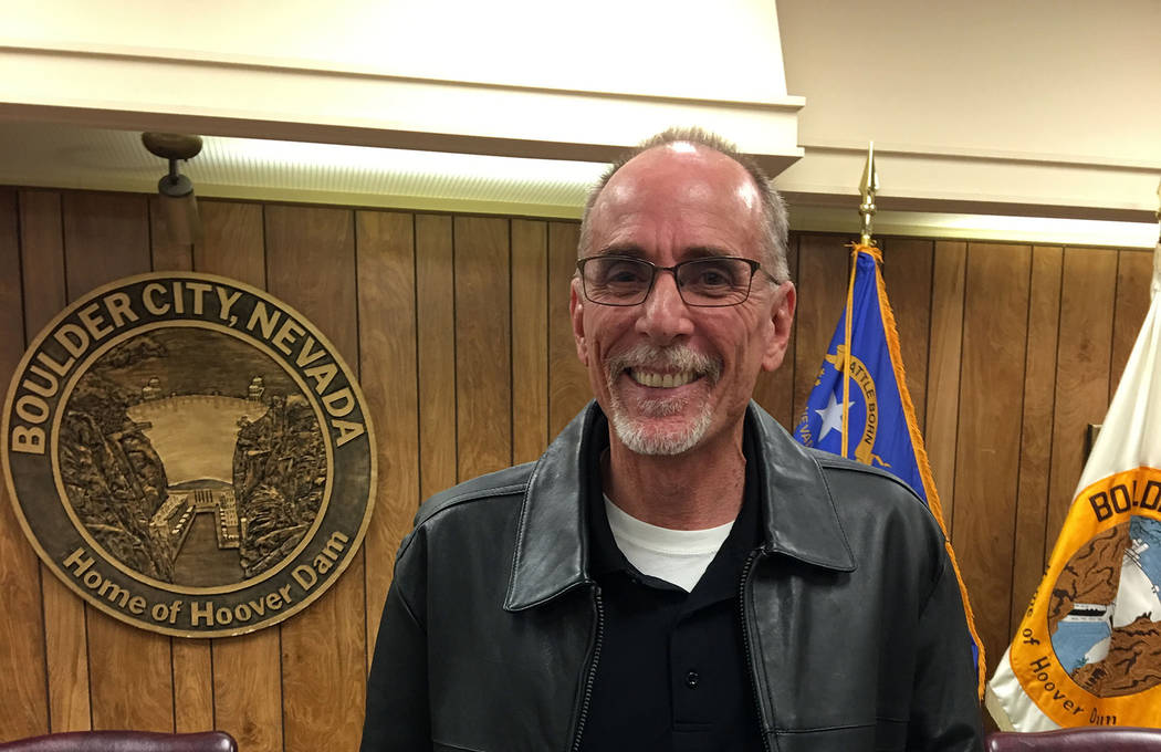Boulder City Jim Giannosa was recognized by the Planning Commission for his 13 years of service to the organization at the Dec. 19 commission meeting. Giannosa's term expired and he is not seeking ...