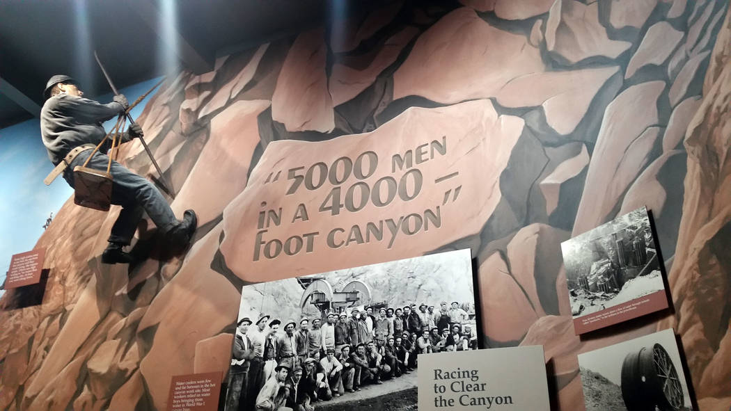 The Boulder City/Hoover Dam Museum in the Boulder Dam Hotel shares the history of Boulder City and the Hoover Dam through its exhibits. There is no admission fee.