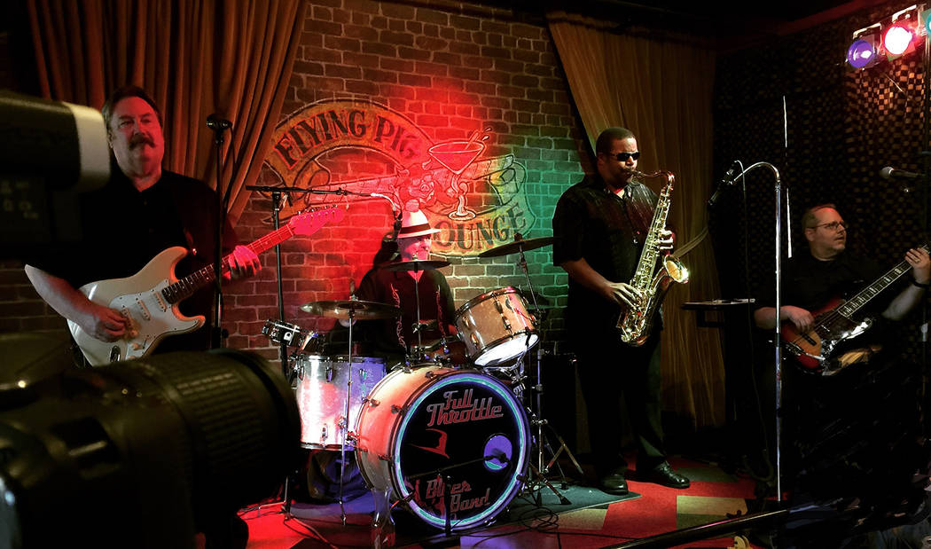 The Full Throttle Blues Band will perform from 6-10 p.m. Saturday, Jan. 17, at Jack's Place, 544 Nevada Way.