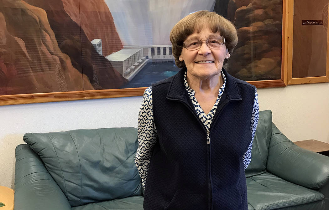 "(Hali Bernstein Saylor/Boulder City Review) Teresa ""May"" Kahl is tireless in her efforts to help others, volunteering at the Boulder City Senior Center, Boulder City Hospital and Grace C ..."