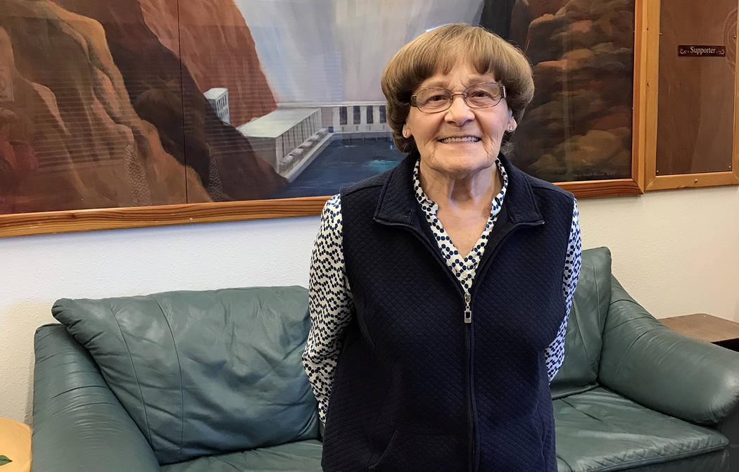 "(Hali Bernstein Saylor/Boulder City Review) Teresa ""May"" Kahl is tireless in her efforts to help others, volunteering at the Boulder City Senior Center, Boulder City Hospital and Grace C ..."