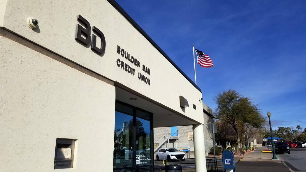 Celia Shortt Goodyear/Boulder City Review Boulder Dam Credit Union, 530 Avenue G, is one of several local businesses offering assistance to furloughed government employees.