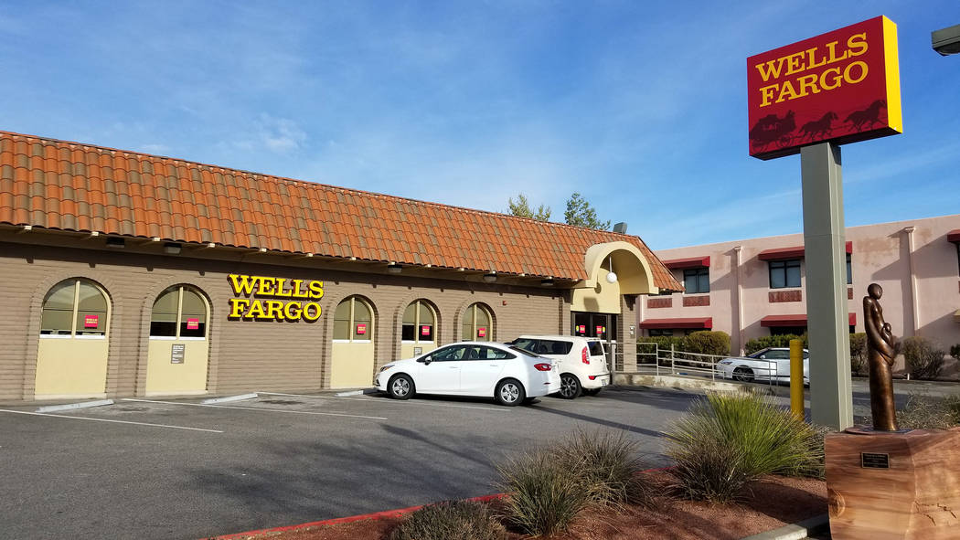 Celia Shortt Goodyear/Boulder City Review Wells Fargo, 412 Nevada Highway, is one of several local businesses offering assistance to furloughed government employees.
