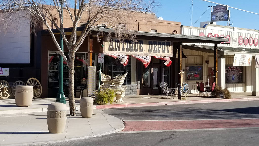 (Celia Shortt Goodyear/Boulder City Review) Antique Depot, 525 Ave. B, is closing because owner Kathi Jacobs is retiring.