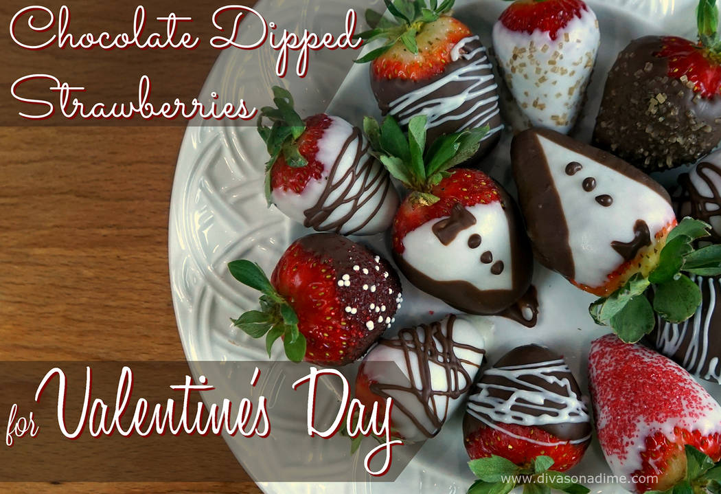 (Patti Diamond) Chocolate dipped strawberries are a decadent, but healthy, treat for Valentine's Day.