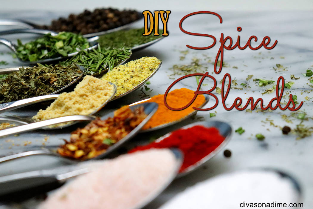 (Patti Diamond) Making your own spice blends allows you to control the ingredients you like, or don't like, and limit unnecessary preservatives.