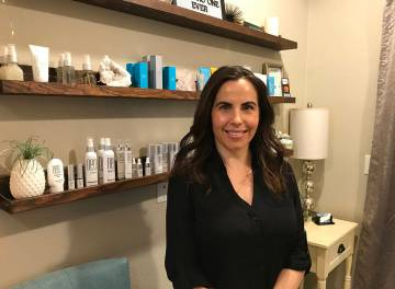 (Hali Bernstein Saylor/Boulder City Review) Bree Western opened Lux Skin Studio in October at 555 Avenue B. She specializes in custom facials.