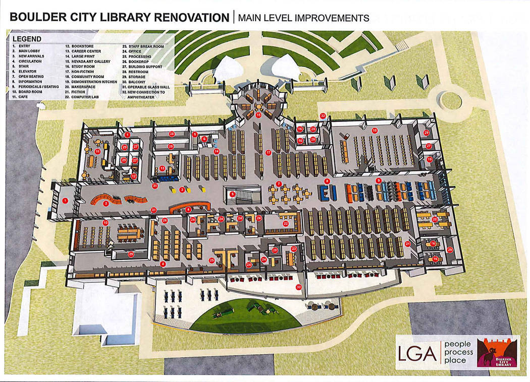 (Boulder City Library) The Boulder City Library District Board of Trustees has withdrawn a ballot question seeking voter approval for an $8.6 million renovation project.