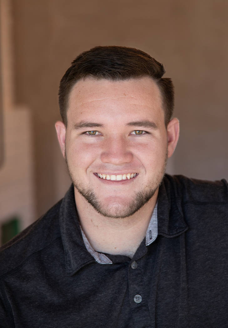 Trenton Motley is seeking a seat on the Boulder City Council and is one of the candidates on the April 2, 2019, primary election ballot.