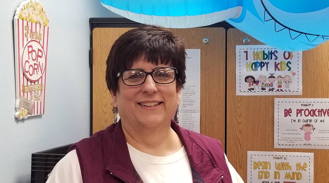 (Celia Shortt Goodyear/Boulder City Review) Carolyn Soliman