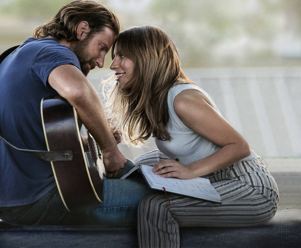 "Bradley Cooper and Lady Gaga co-star in ""A Star is Born,"" which will be shown at 5:30 p.m. Friday at Boulder City Library, 701 Adams Blvd."