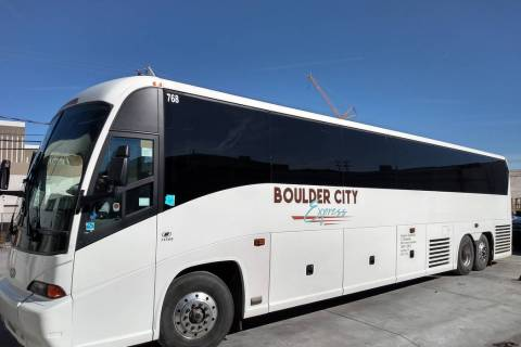 (National Park Express) A tour company is now offering round-trip shuttles to Boulder City from the Strip. Tickets start at $25.