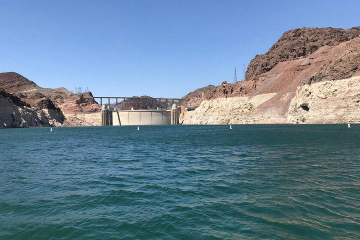 (Hali Bernstein Saylor/Boulder City Review) Enough snow has fallen on the Colorado Rockies this winter to stave off a federal shortage on the drought-stricken Colorado River. The shortage would be ...