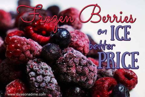 (Patti Diamond) Frozen fruits, such as berries, are more economical to purchase than fresh frui ...