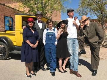 (Hali Bernstein Saylor/Boulder City Review) The Boulder City History & Arts Foundation will ...