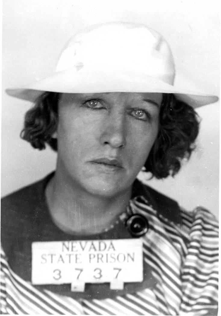 Grace Nusser, who was convicted of murdering her husband, is seen in this photo from the Nevada ...