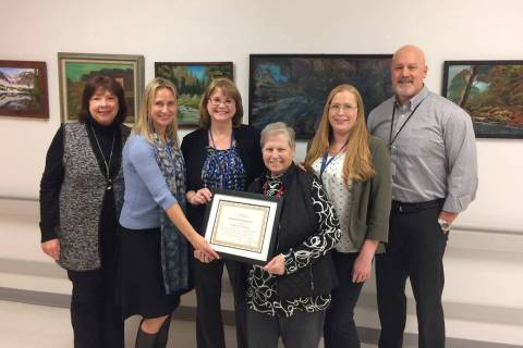 (Boulder City Hospital) Proudly showing off their national Critical Access Hospital Recognition ...