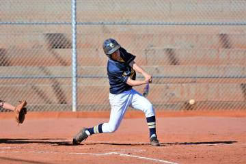 (Robert Vendettoli/Boulder City Review) Helping break the game open, Boulder City High School s ...