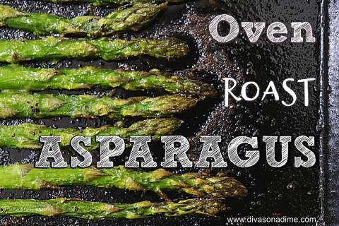 (Patti Diamond) One way to prepare asparagus is to oven roast them for about 25 minutes until t ...