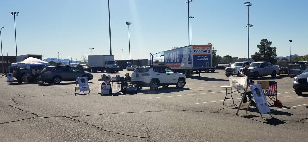Celia Shortt Goodyear/Boulder City Review The city's second Big Clean Event was held Saturday, ...
