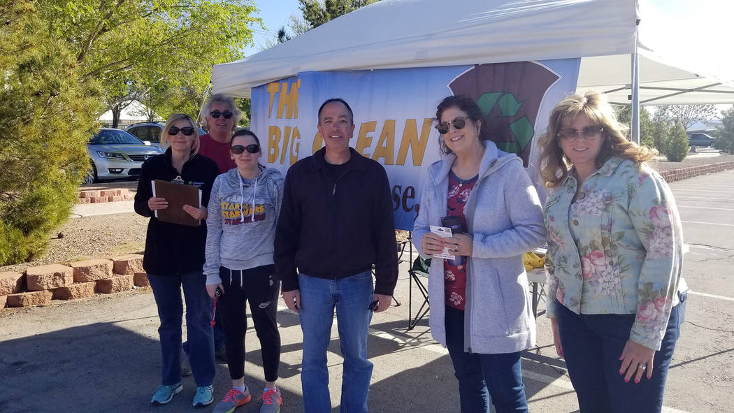 Celia Shortt Goodyear/Boulder City Review Boulder City staff and their families and residents, ...